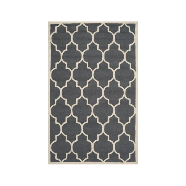 Everly szürke gyapjú szőnyeg, 152 x 243 cm - Safavieh