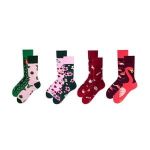 Sada 4 párů ponožek v dárkovém balení Many Mornings Cactus, vel. 43–46