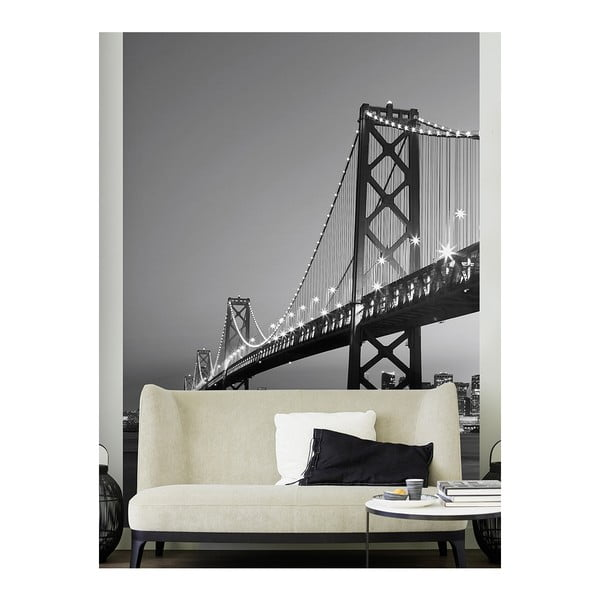Velkoformátová tapeta San Francisco Skyline, 183x254 cm