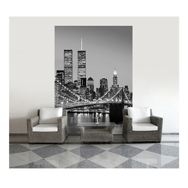 Velkoformátová tapeta Manhattan Skyline, 183x254 cm