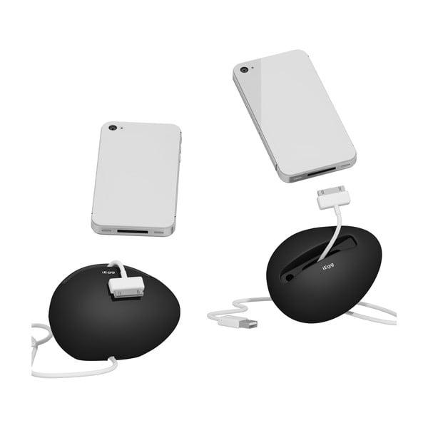 Stojan a zesilovač iEgg na iPhone 4/4S, bílý