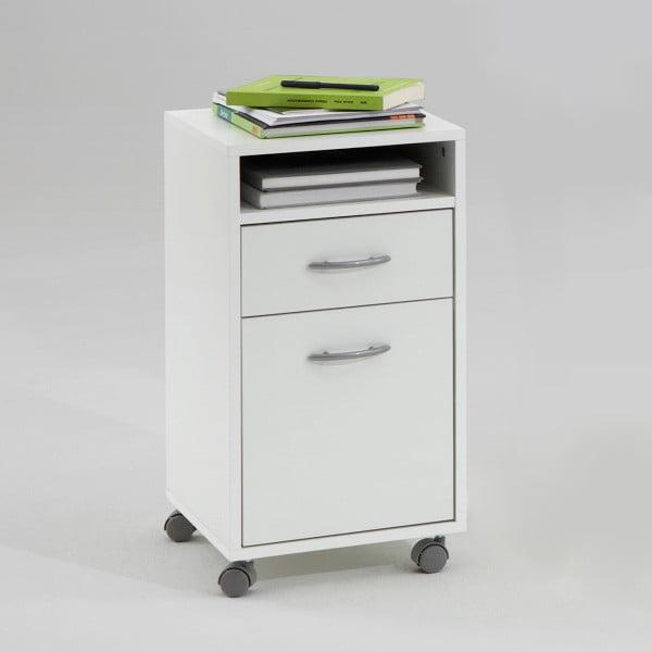 Kancelářské zásuvky Felix, bílé