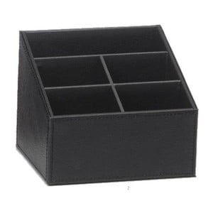 Stojánek na dálkové ovládání Dark Black, 16,5x13,6x13 cm
