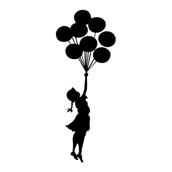 Samolepka na zeď Balloon Girl by Banksy