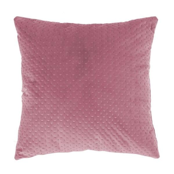 Růžový polštář Tiseco Home Studio Textured, 45x45cm
