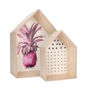 Sada dvou poliček HF Living Pineapple