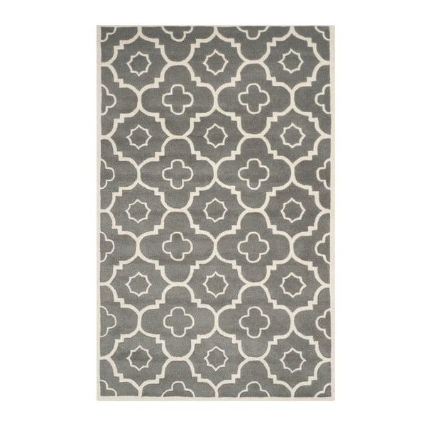 Ručně vyšívaný koberec Safavieh Alexa, 182 x 121 cm