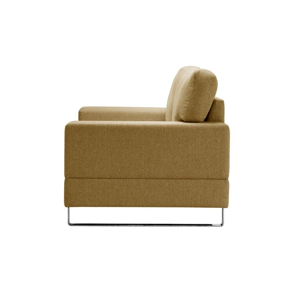 fotoliu corinne cobson dahlia galben bonami. Black Bedroom Furniture Sets. Home Design Ideas