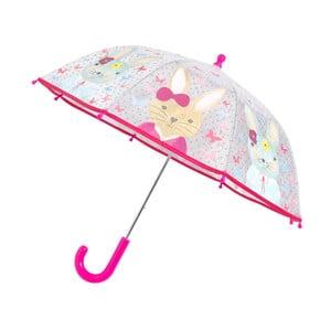 Umbrelă pentru copii Ambiance Bunny Print