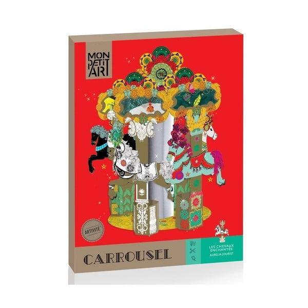 Carusel din hârtie Mon Petit Art Carrousel