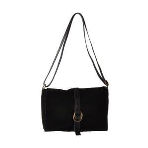 Černá kožená kabelka Ore Diece New York