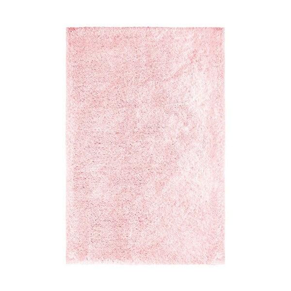 Růžový ručně vyráběný koberec Obsession My Touch Me Powder, 60 x 110 cm