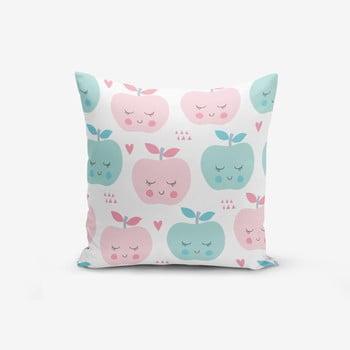 Față de pernă cu amestec din bumbac Minimalist Cushion Covers Colorful Elmalar, 45 x 45 cm de la Minimalist Cushion Covers