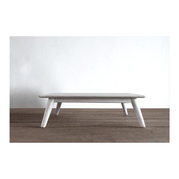 Konferenční stolek Preston Rustic White