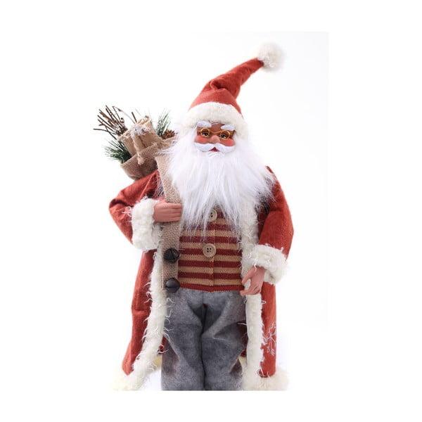 Statuetă de Crăciun DecoKing Santa, roșu