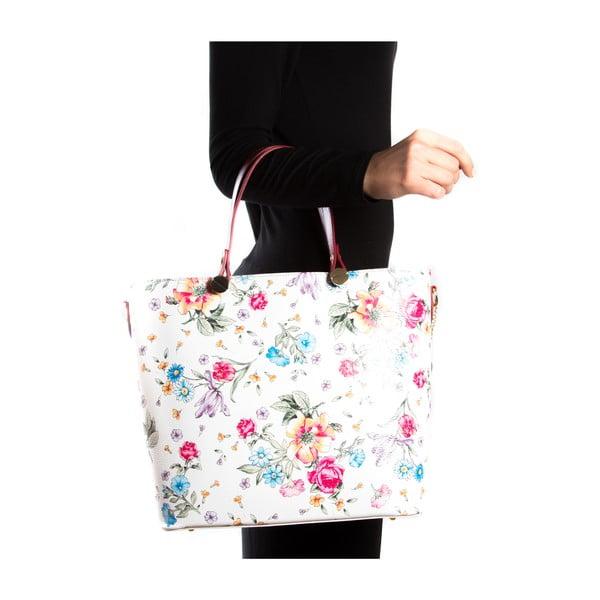 Kožená kabelka Paquita, barevná