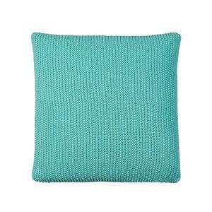 Polštář s náplní Moss Knit Mint, 50x50 cm