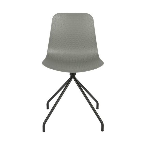 Sada 2 šedých židlí WOOOD Sis