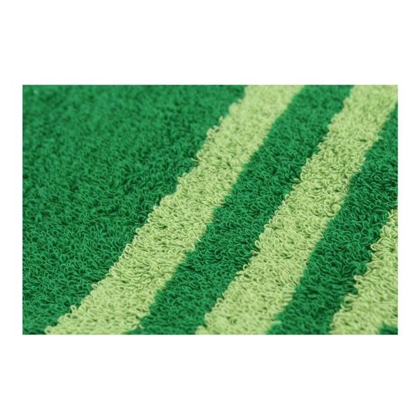 Sada 2 osušek Capri Grass Green, 70x140 cm