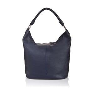 Modrá kožená kabelka Massimo Castelli Orisa