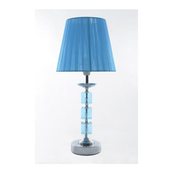 Stolní lampa Crystal Blue, 40 cm