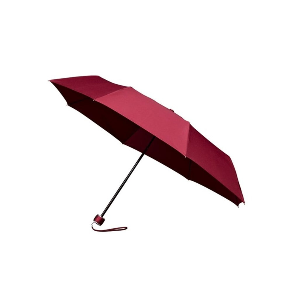 Vínově červený skládací deštník Mini-Max Wine