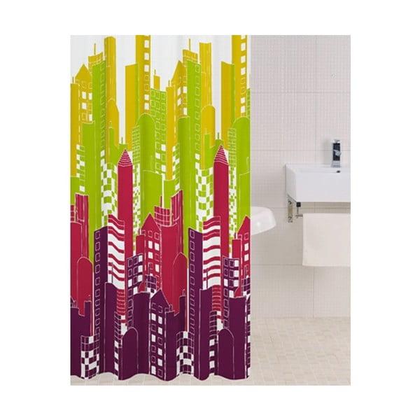 Sprchový závěs Big City, 180x180 cm