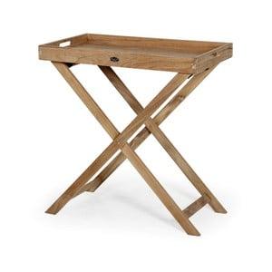 Zahradní stolek s tácem Brafab Turin, výška 74cm