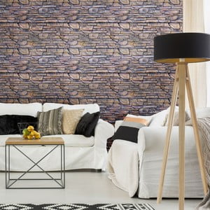 Autocolant de perete Ambiance Stone Facing of Torrerdam, 40 x 40 cm
