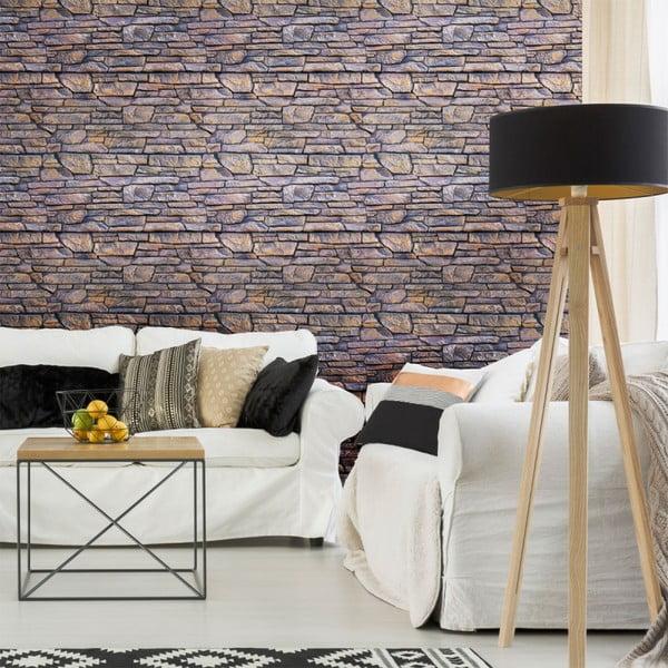Naklejka ścienna Ambiance Wall Decal Materials Stone Facing of Torrerdam, 40x40 cm