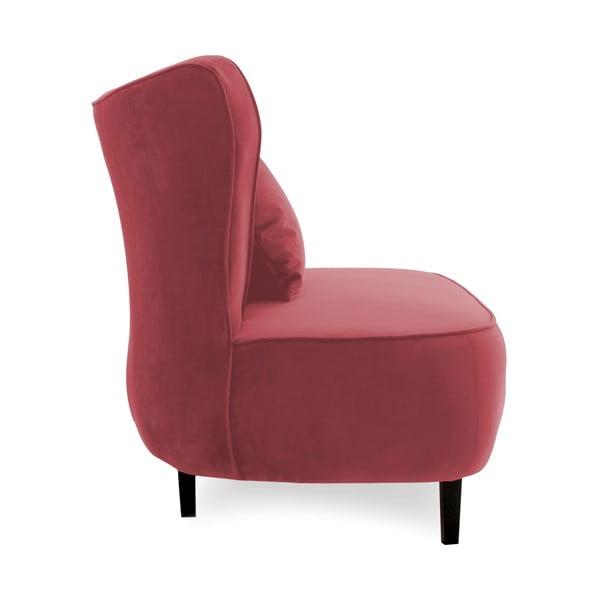 Červené křeslo Vivonita Douglas Love Seat