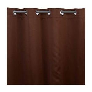 Závěs Black Out Brown, 140x245 cm