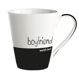 "Porcelánový hrnek ""World's best boyfriend"""