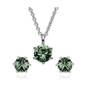 Sada náušnic a náhrdelníku se Swarovski Elements St. Francis Crystals