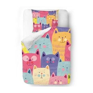 Povlečení Butter Kings Cats in Colours, 140x200 cm
