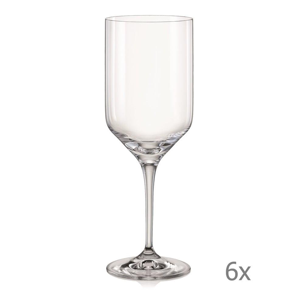 Sada 6 sklenic na víno Crystalex Uma, 480 ml
