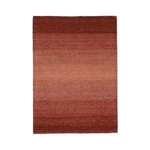 Koberec Baku Stripe Terra, 70x140 cm
