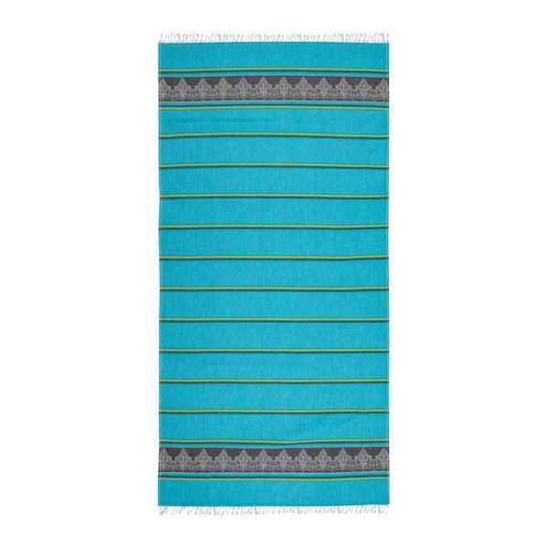 Hammam osuška Loincloth Blue, 80x170 cm