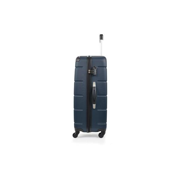 Sada 3 modrých kufrů na kolečkách BlueStarOttawa