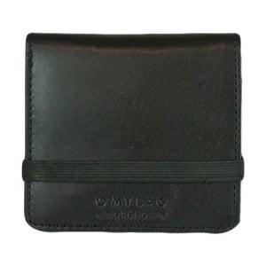 Černá kožená peněženka O My Bag Alex