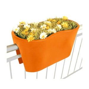 Květináč Steckling Duo, oranžový