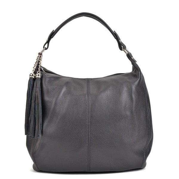 Černá kožená kabelka Sofia Cardoni Bruhna