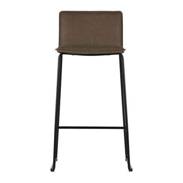 Sada 2 hnědých barových židlí De Eekhoorn Evan