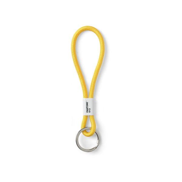 Žlté pútko na kľúče Pantone