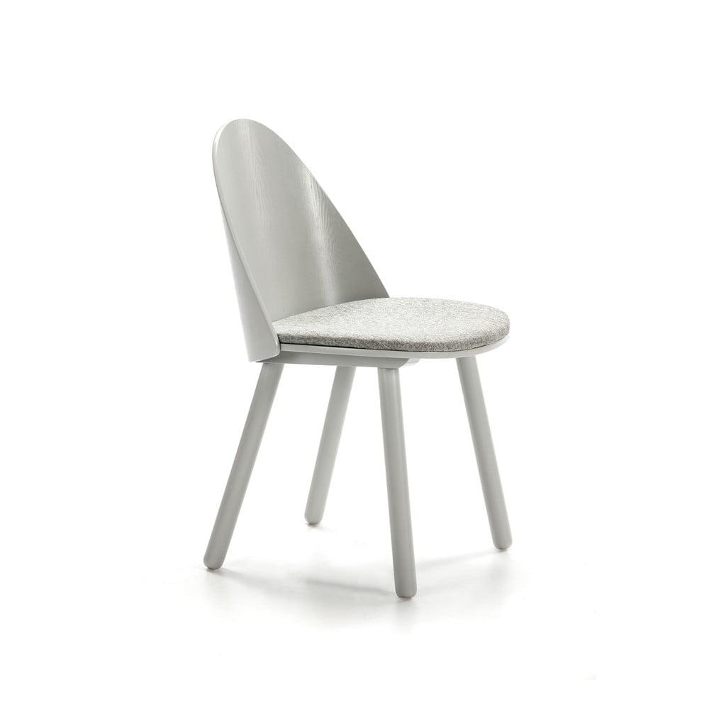 Šedá židle Teulat Uma