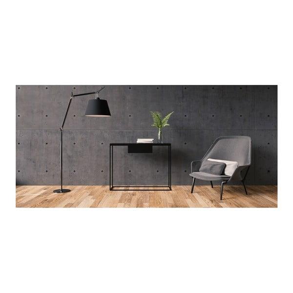 Černý konzolový stolek take me HOME Radom, 100x30cm