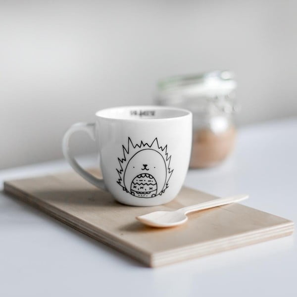Hedgehog csésze, 300 ml - FOR.REST Design