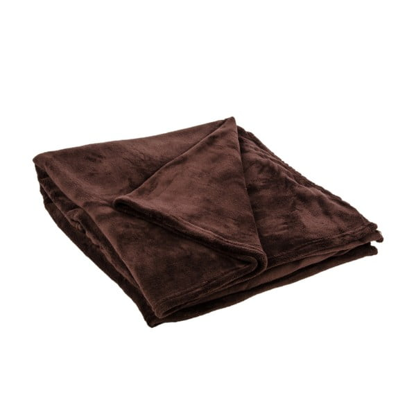 Přehoz na postel Sherpa Brown, 220x240 cm