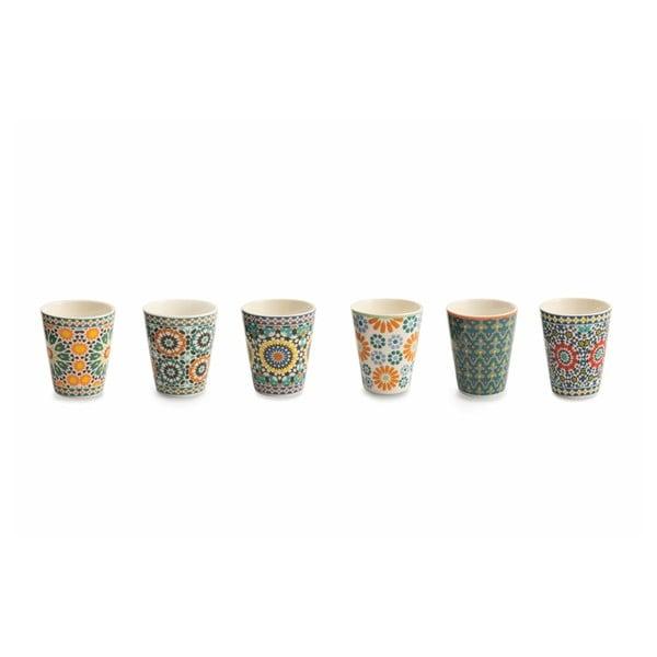 Bisanzio 6 darabos csontporcelán kávéscsésze szett, 90ml - Villa d'Este