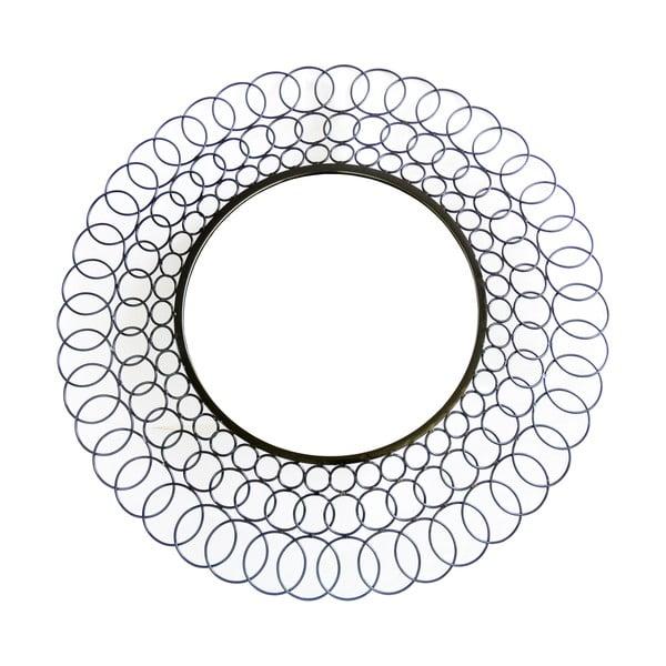 Kovové zrcadlo Black Sun, 85 cm